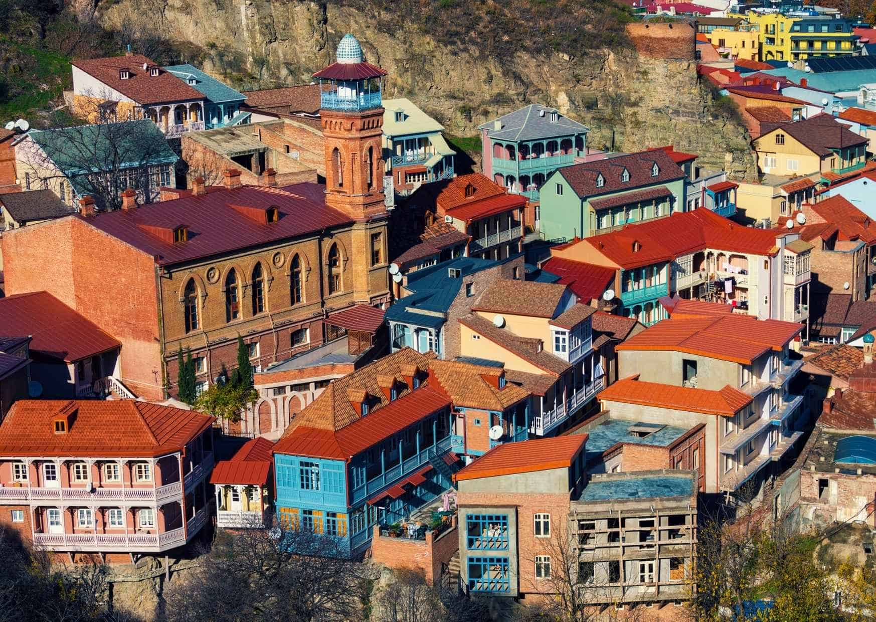 רובע עתיק בטביליסי
