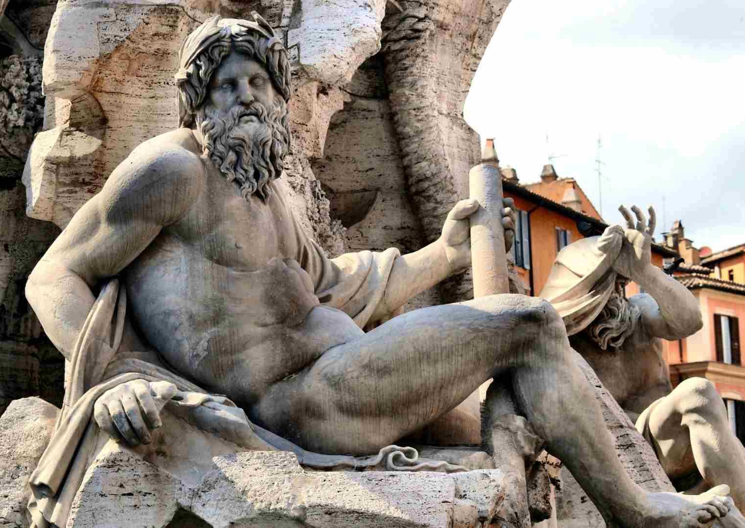 זאוס של ברניני, פיאצה נאבונה, רומא