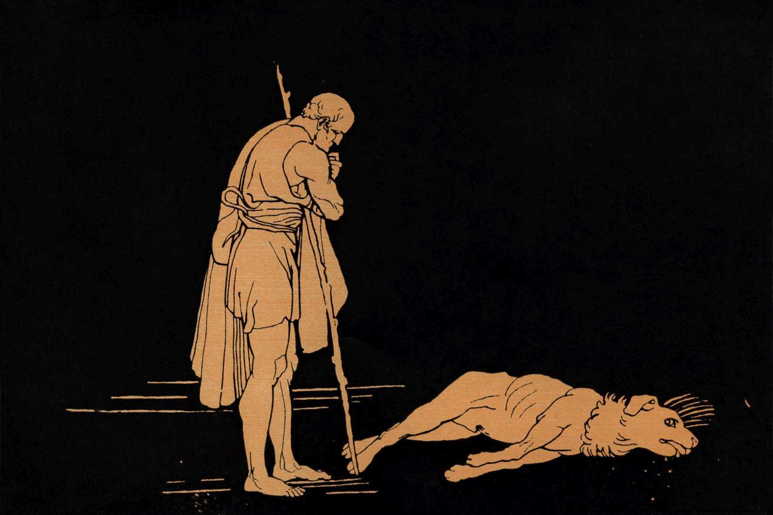 אודיסיאוס חוזר לאיתקה