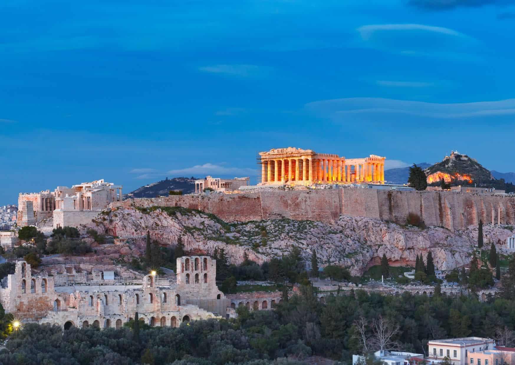 הפרתנון על האקרופוליס, אתונה