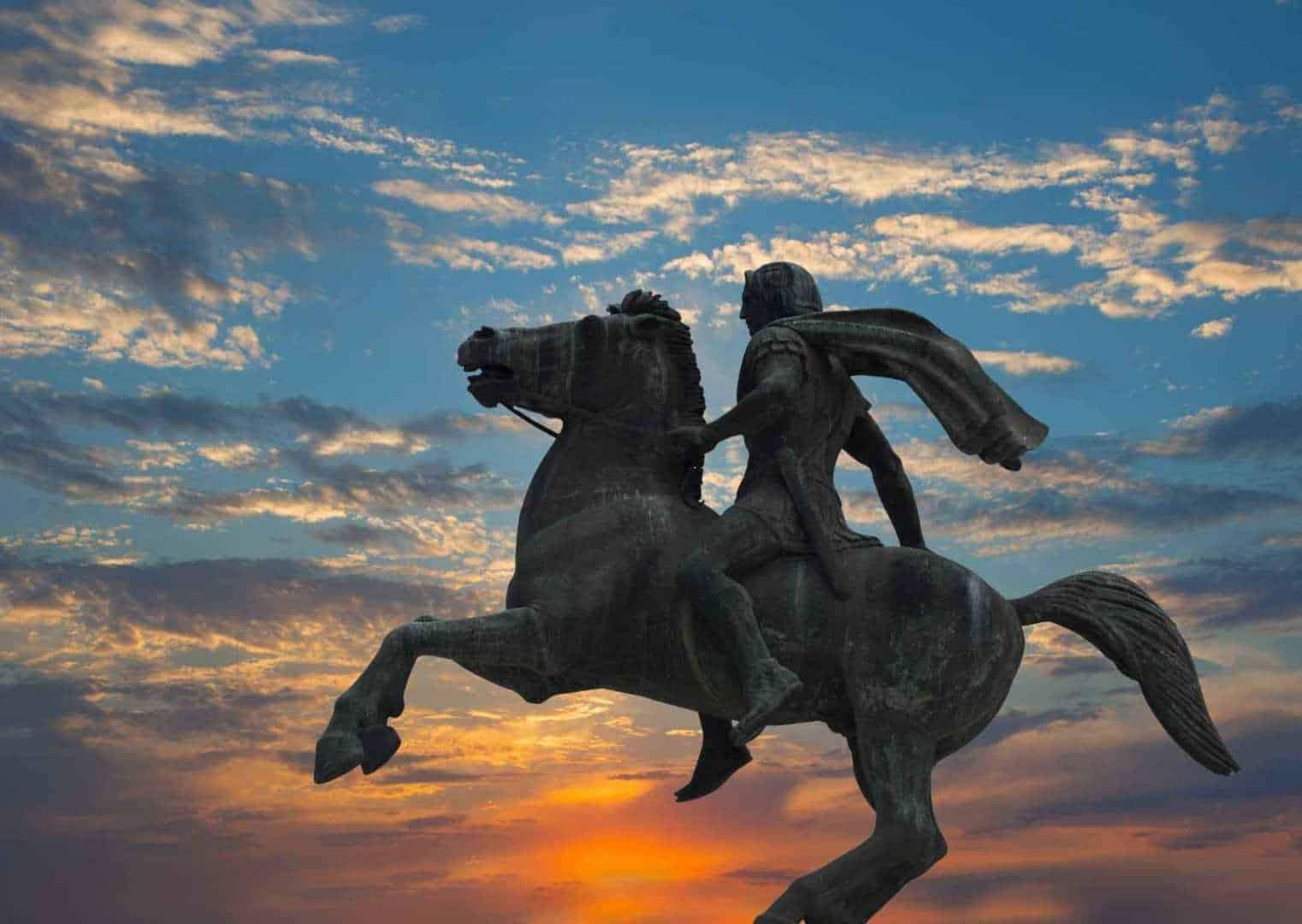 אלכסנדר הגדול, ת'סלוניקי