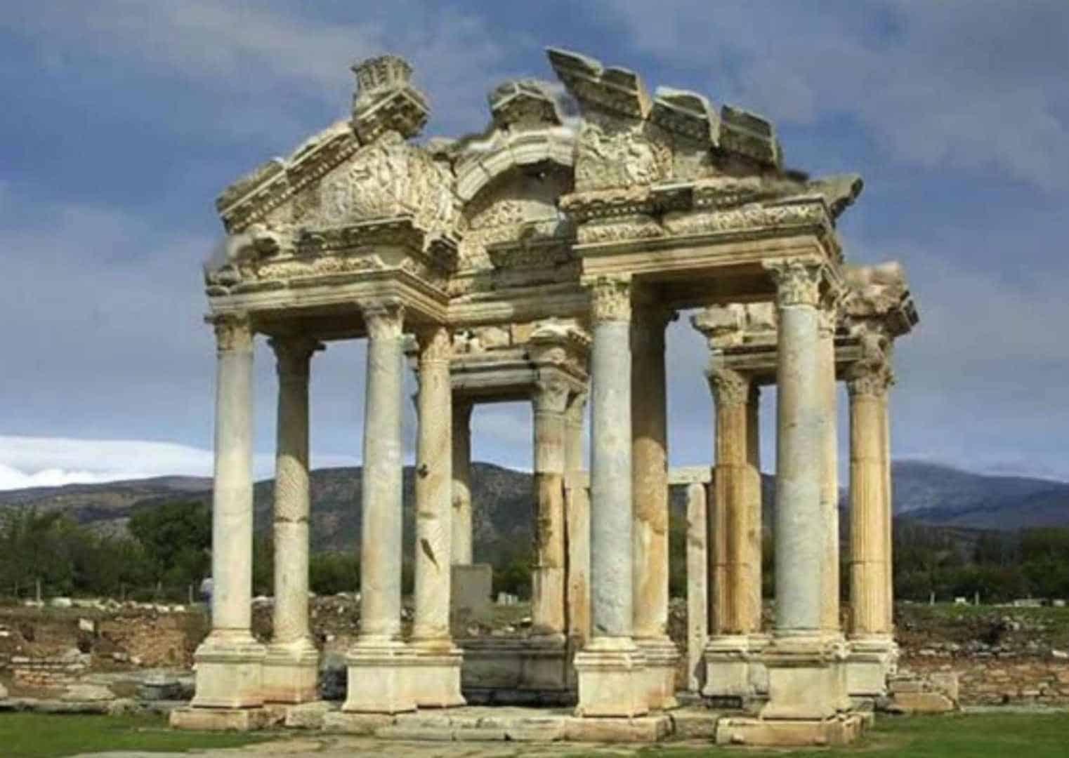 מקדש אפרודיטה, קורינתוס, יוון