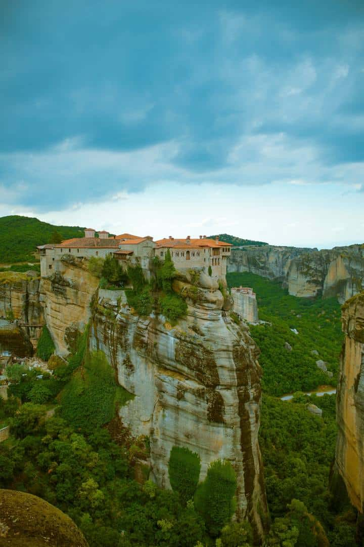 מנזר אגיה טריאדה, מטאורה