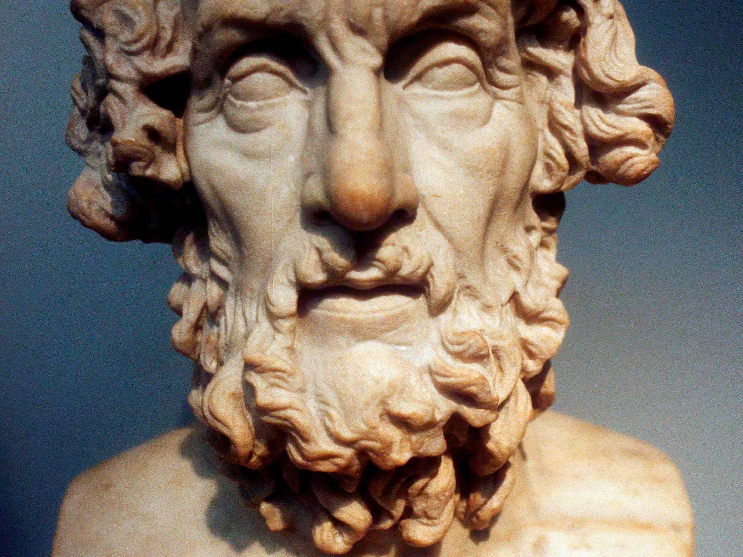 הומרוס. היטיב לתאר את נפש האדם.