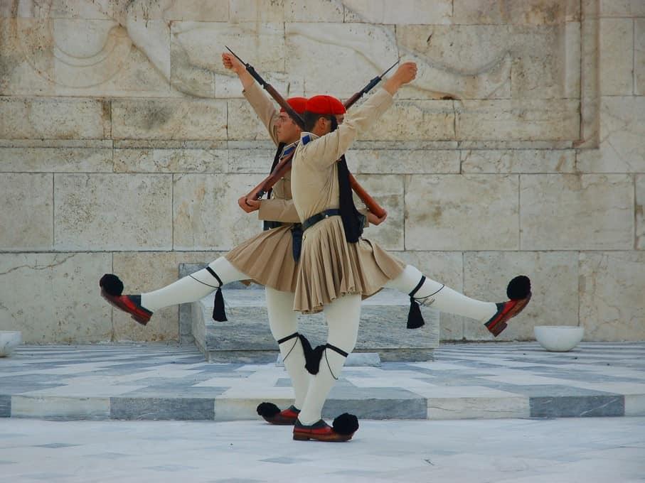 משמר אנדרטת החייל האלמוני, אתונה
