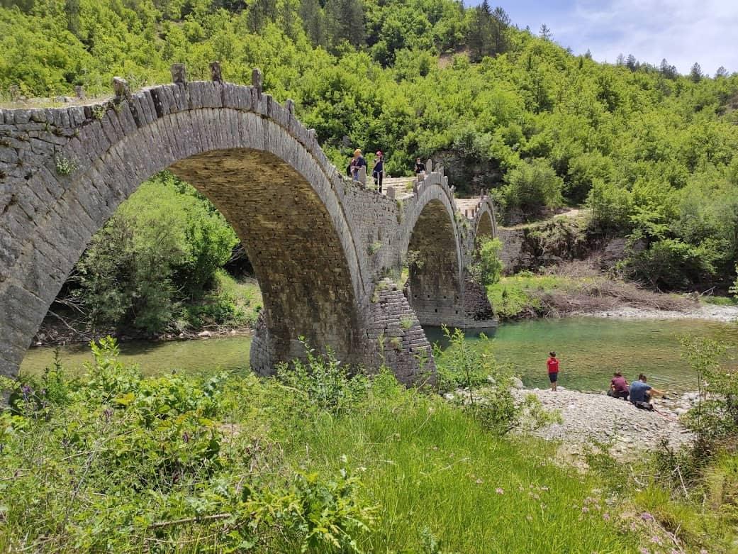 גשר קלוגריקו, ליד הכפר קיפי (1)
