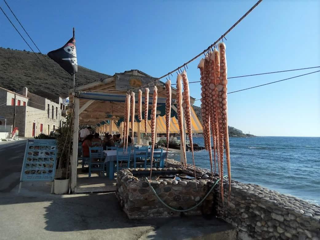 מסעדת דייגים, מפרץ איטילו