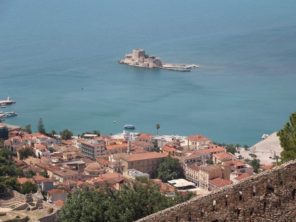 נאפפליו, מראה ממצודת פאלאמידי