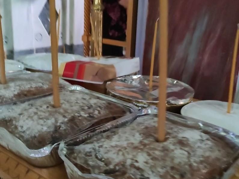עוגות לכבוד פאנוריוס הקדוש